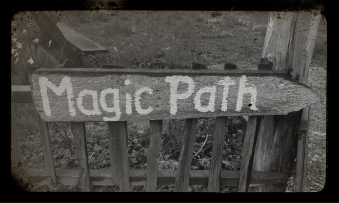 follow the magic path...