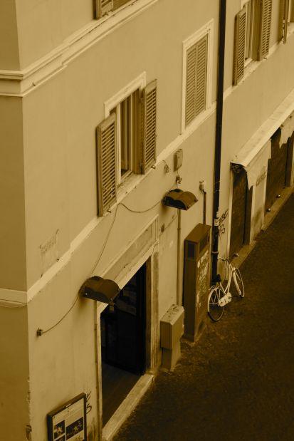 bike in roma